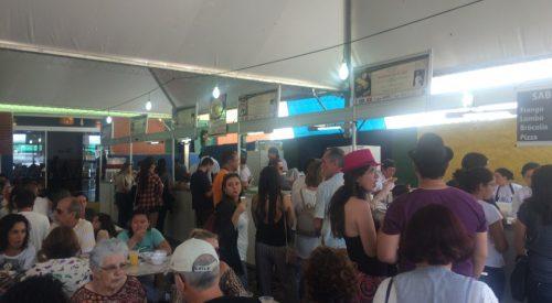 Turismo visita Festival Gastronômico de Gonçalves