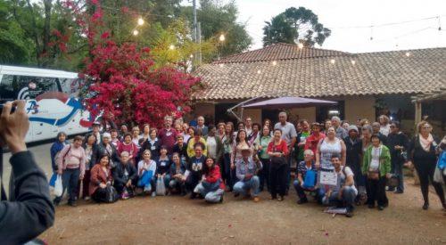 Extrema recebe visita de Fundação dos Aposentados de São Paulo