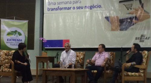 Seminário comemora Dia da Pequena Empresa em Extrema