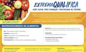 """""""Extrema Qualifica: Ação Social para Formação Profissional no Turismo"""" retoma atividades"""