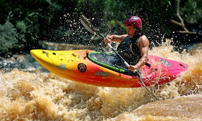 Parque do Jaguari recebe Rio Selvagem Kayak Extremo